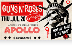 Guns N' Roses tour.