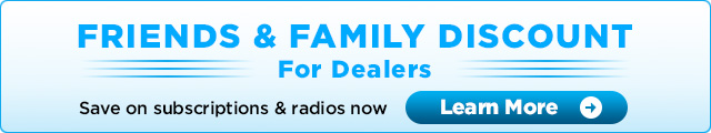 Friends & Family Discount for Dealers