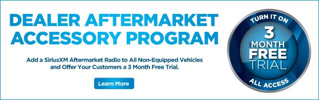 Dealer Aftermarket Accessory Program